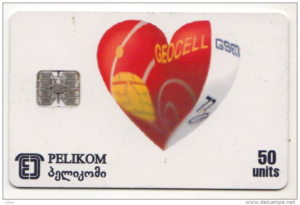 GEORGIE Ref MV Cards GEO-4 GEOCELL GSM - Géorgie