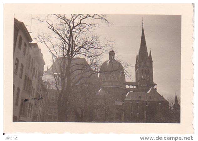 Foto Aachen - Kaiserpfalz - April 1942 - 6*4 Cm (25479) - Orte