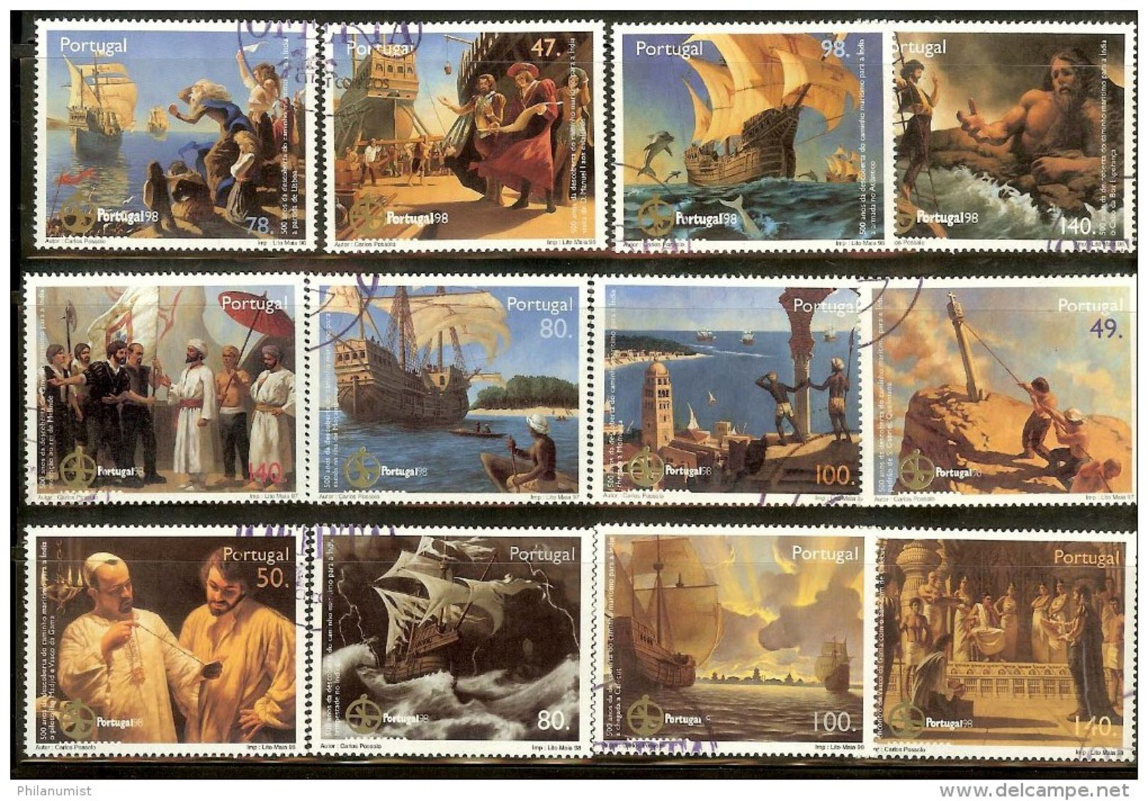 PORTUGAL 98 DISCOVERY OF INDIA 1998 CTO !! - Non Classés