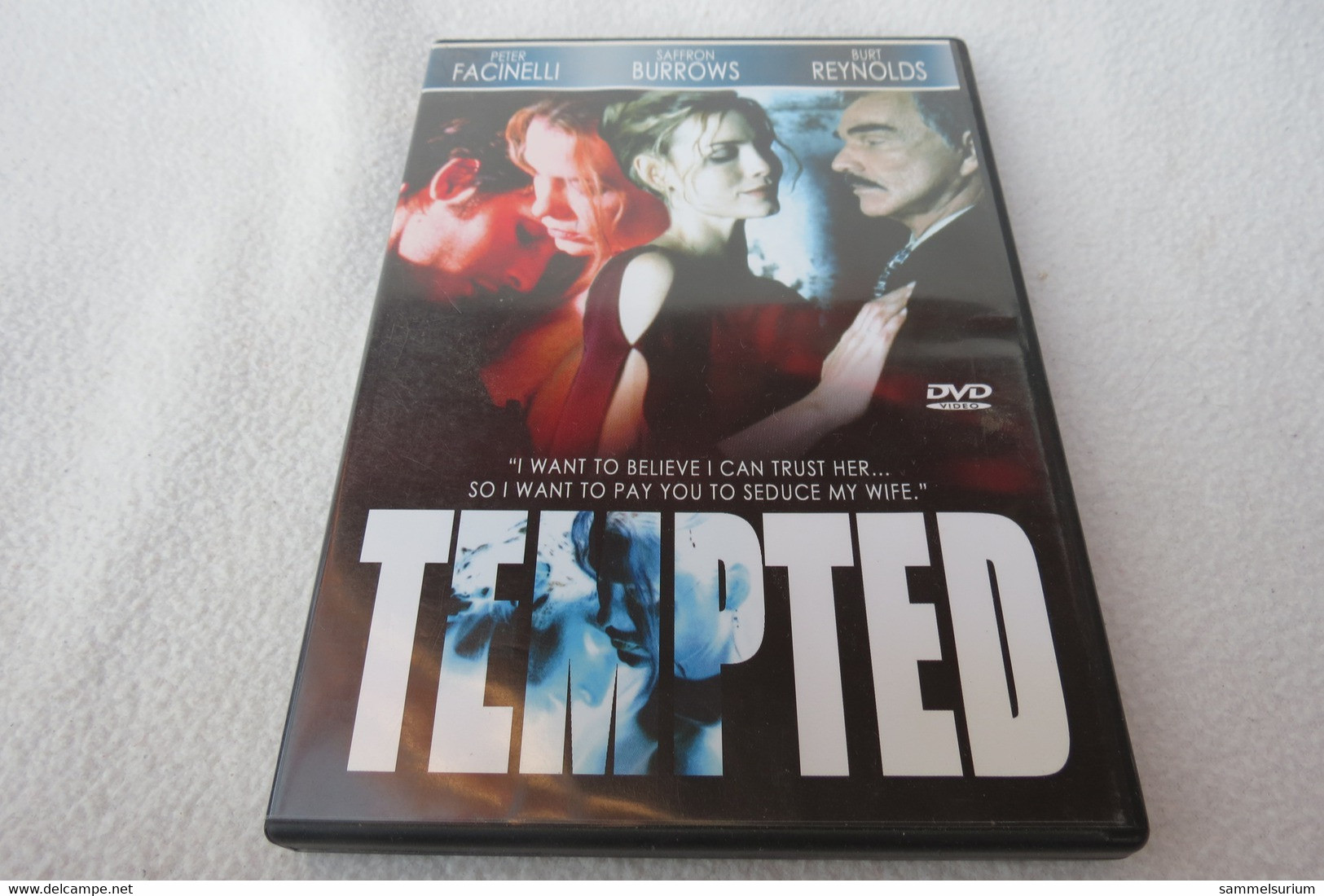 "DVD ""Tempted"" Peter Facinelli, Saffron Burrows, Burt Reynolds - Musik-DVD's"
