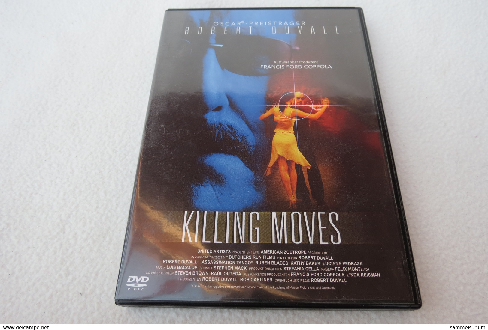 "DVD ""Killing Moves"" Thriller - Musik-DVD's"