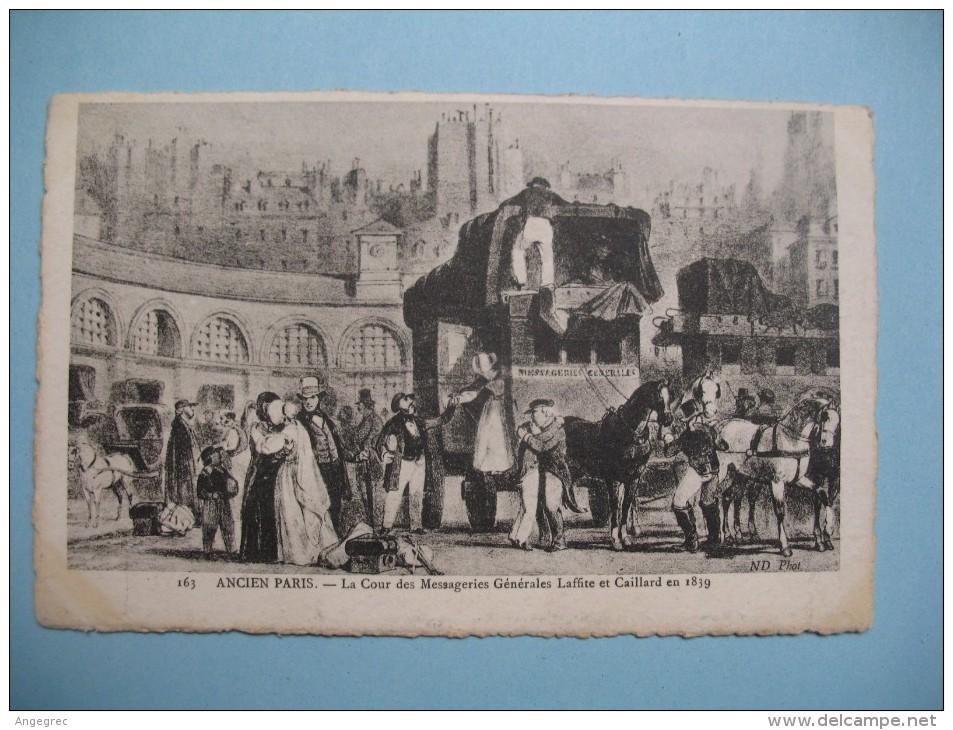 CPA   Histoire De L´Ancien Paris - Histoire