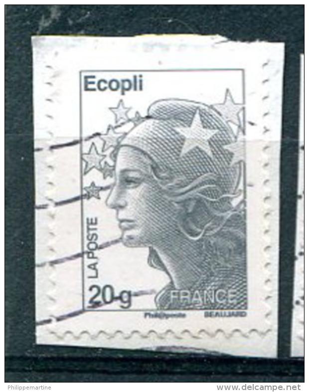 France 2011 - YT 4565 (o) Sur Fragment - Francia