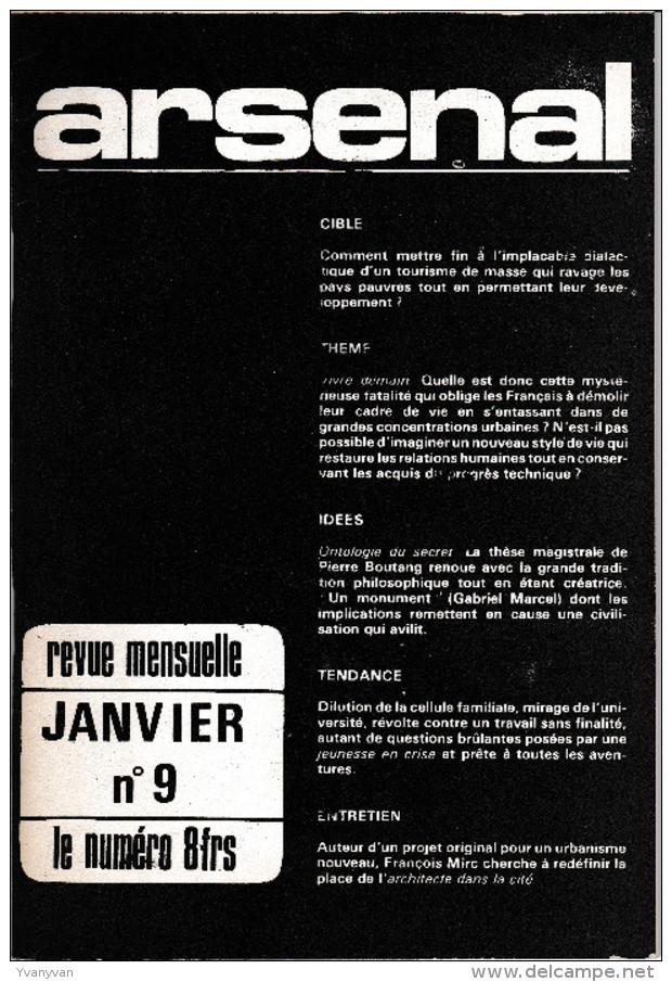 Collection Complète Revue ARSENAL (royaliste – Renouvin) - Politique