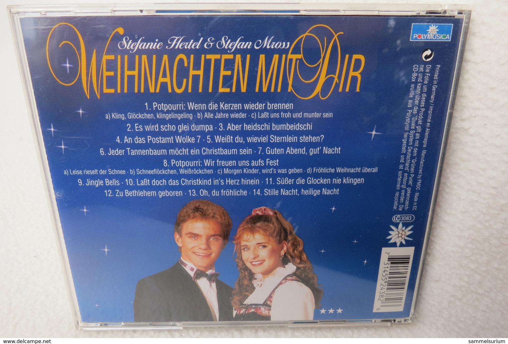 """CD """"Stefanie Hertel & Stefan Mross"""" Weihnachten Mit Dir - Weihnachtslieder"""