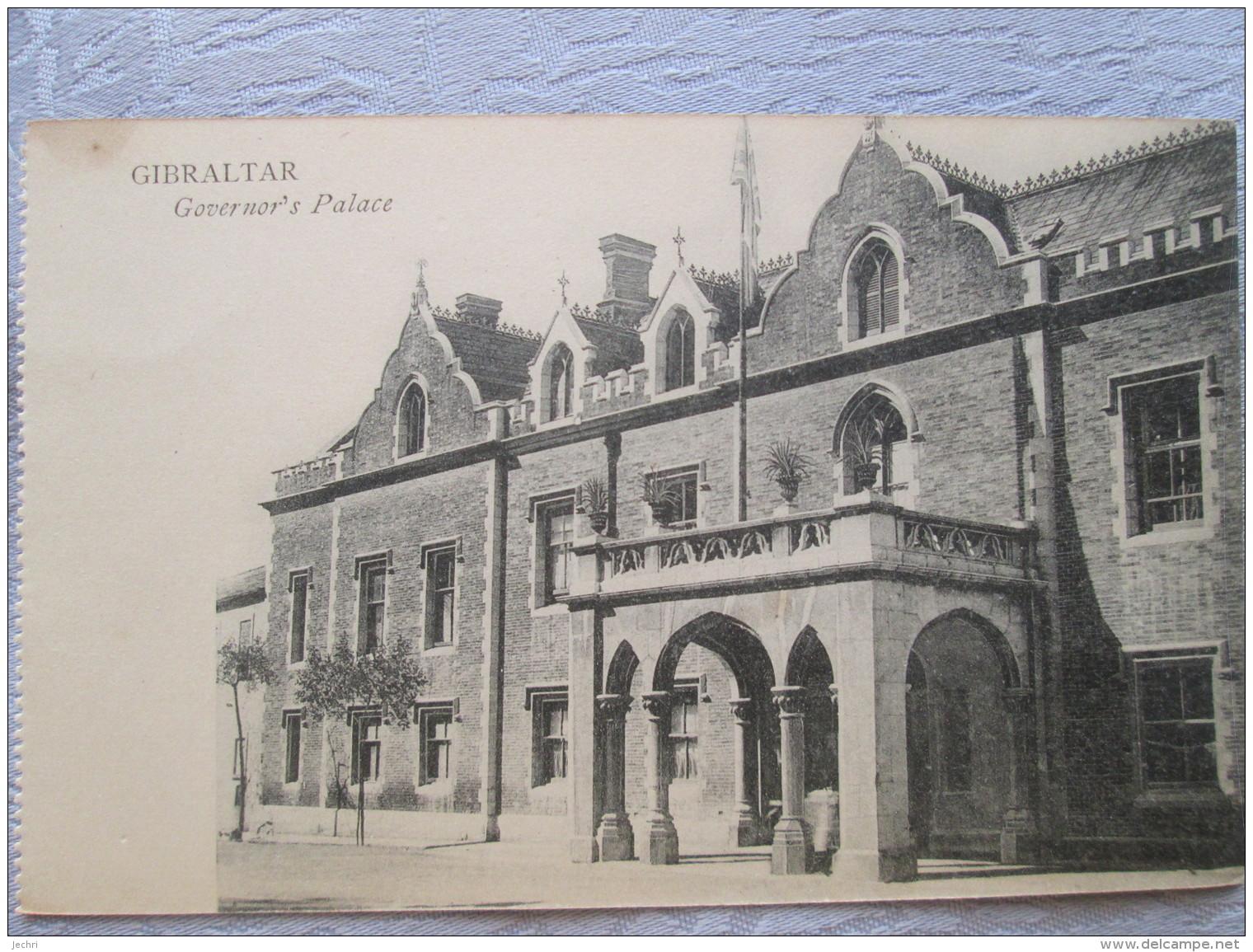 GIBRALTAR . GOVERNOR S PALACE - Gibraltar