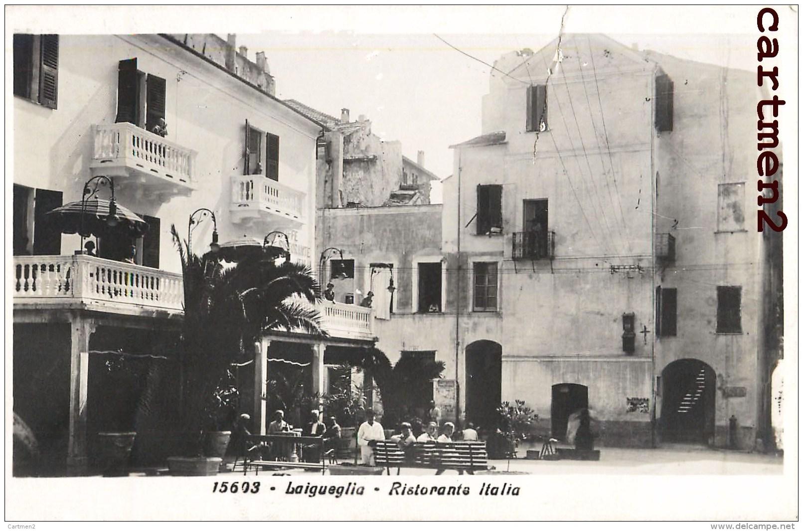 LAIGUEGLIA RISTORANTE ITALIA LIGURIA - Italia