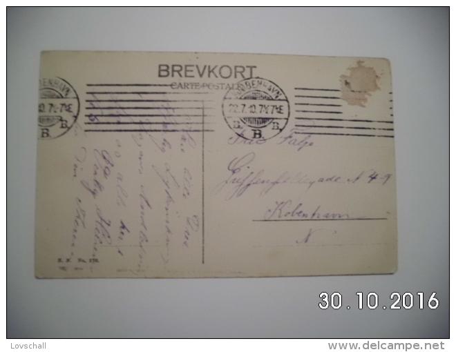 København. - Parti I Tivoli. (22 - 7 - 1910) - Danemark