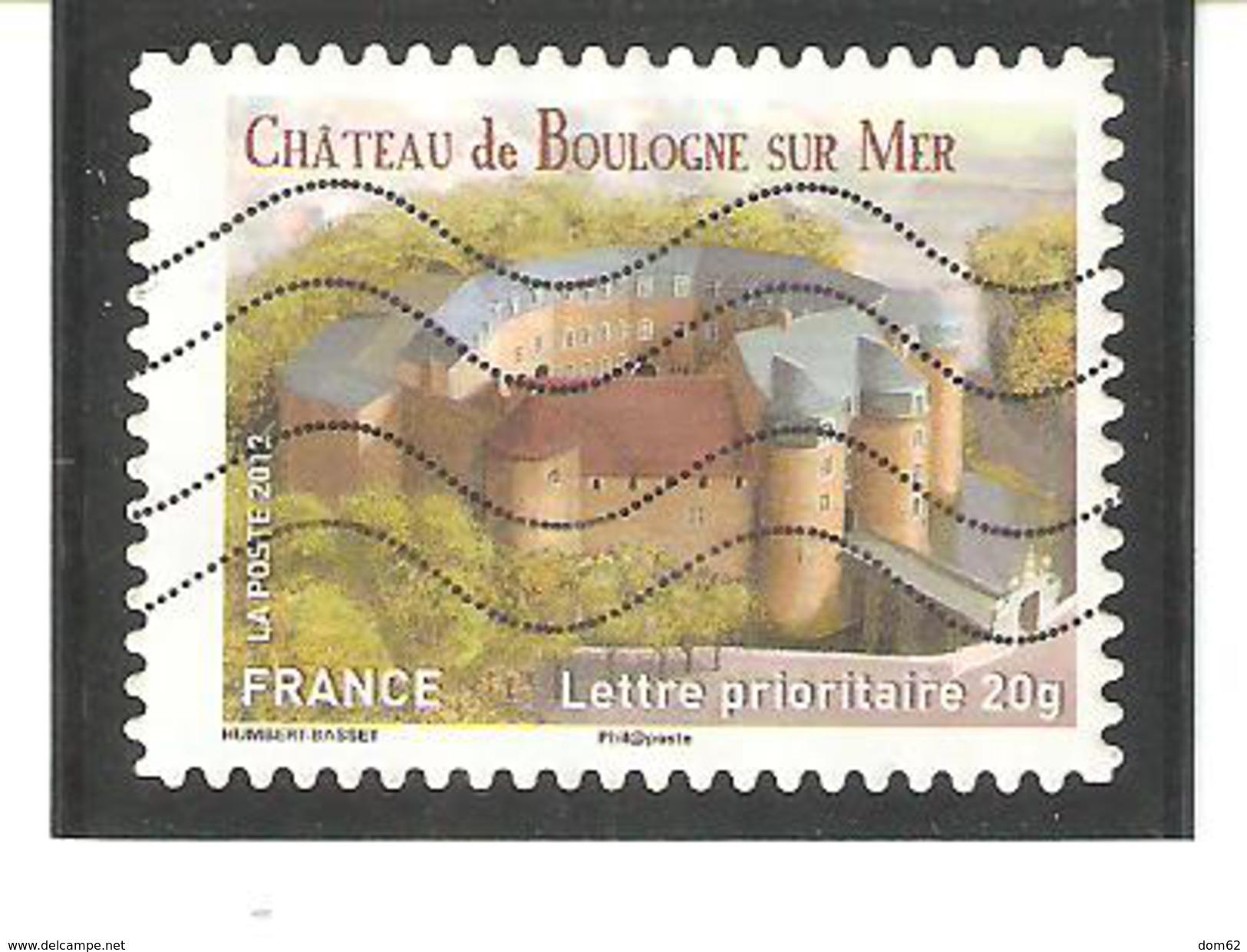 N°716 CHÂTEAU DE BOULOGNE SUR MER - Frankreich