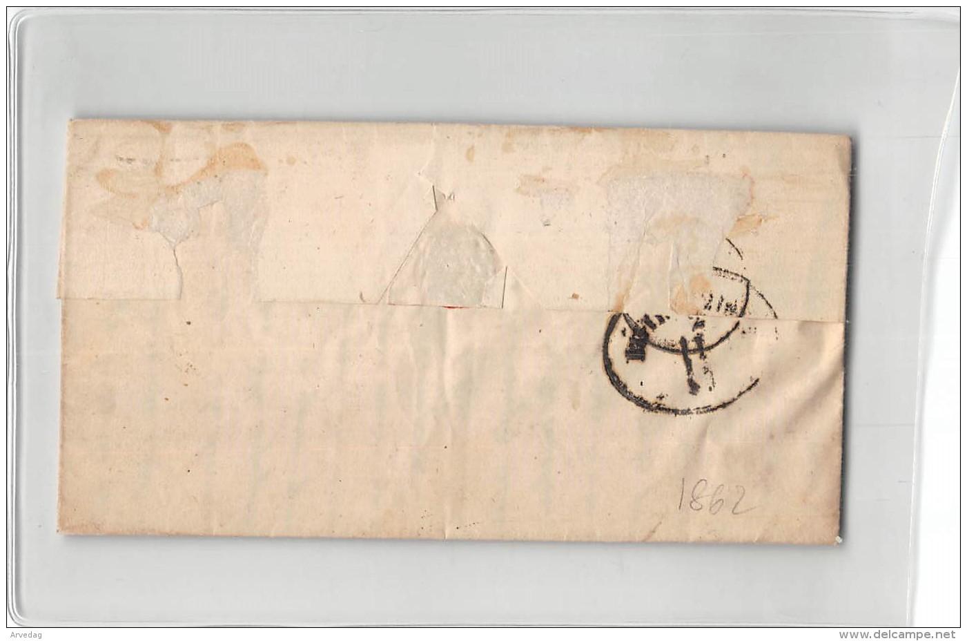 AG1724  Lombardo Veneto  Motta X Venezia 5 Soldi Rosso Chiaro 1861 - Lombardije-Venetië