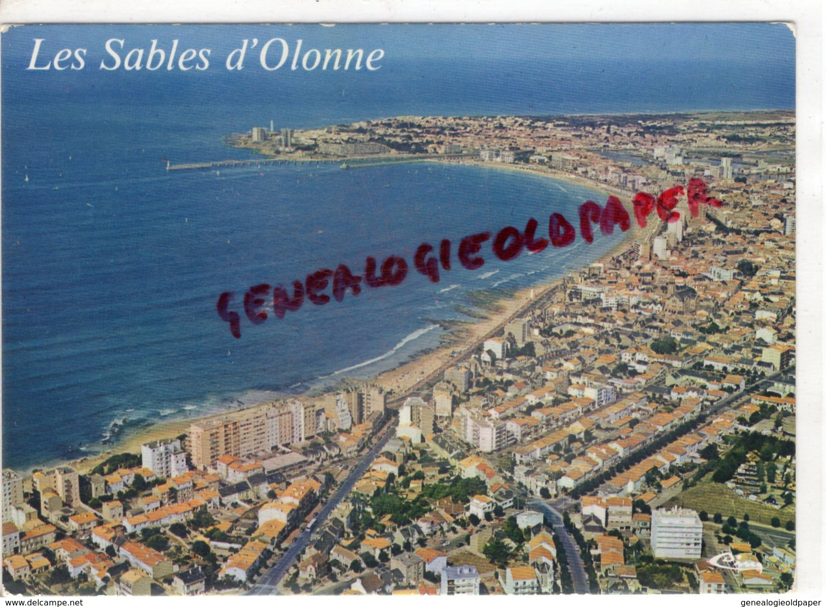85 - SABLES D'OLONNE - VUE GENERALE AERIENNE - Sables D'Olonne
