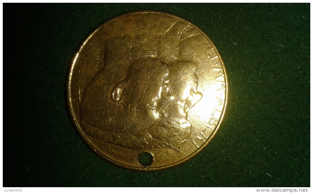 1913, Souvenir De Exposition Universelle Internationalle De Gand, 8 Gram (med317) - Souvenirmunten (elongated Coins)