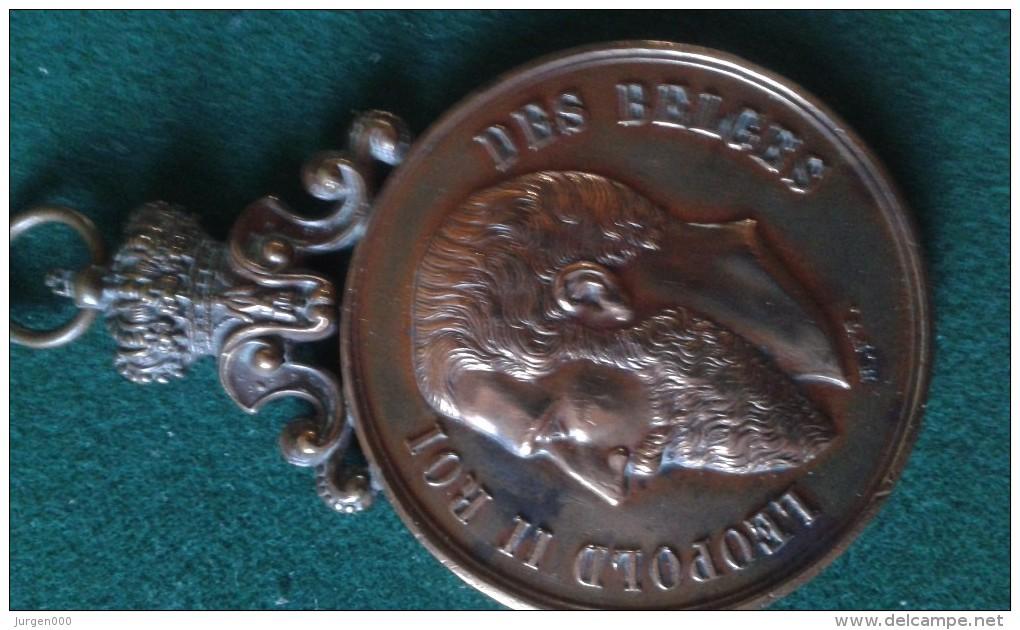 1896, Concours D'Etalages Hasselt, 56 Gram (med343) - Pièces écrasées (Elongated Coins)