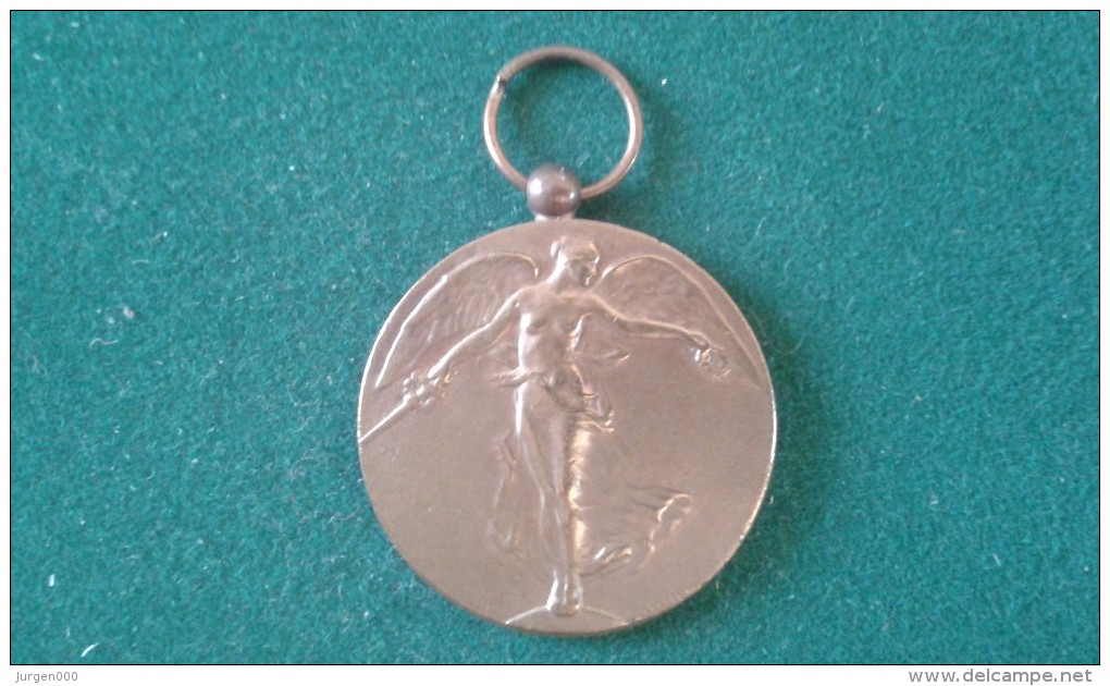 De Groote Oorlog Tot De Beschaving, La Grande Guerre Pour La Civilisation, 24 Gram (med344) - Monete Allungate (penny Souvenirs)