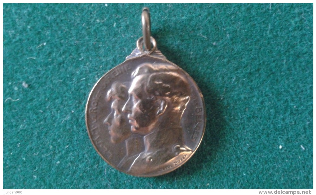 Steun Aan De Weezen Van Den Oorlog, Secours Aux Orphelins De La Guerre, 4 Gram (med347) - Monedas Elongadas (elongated Coins)