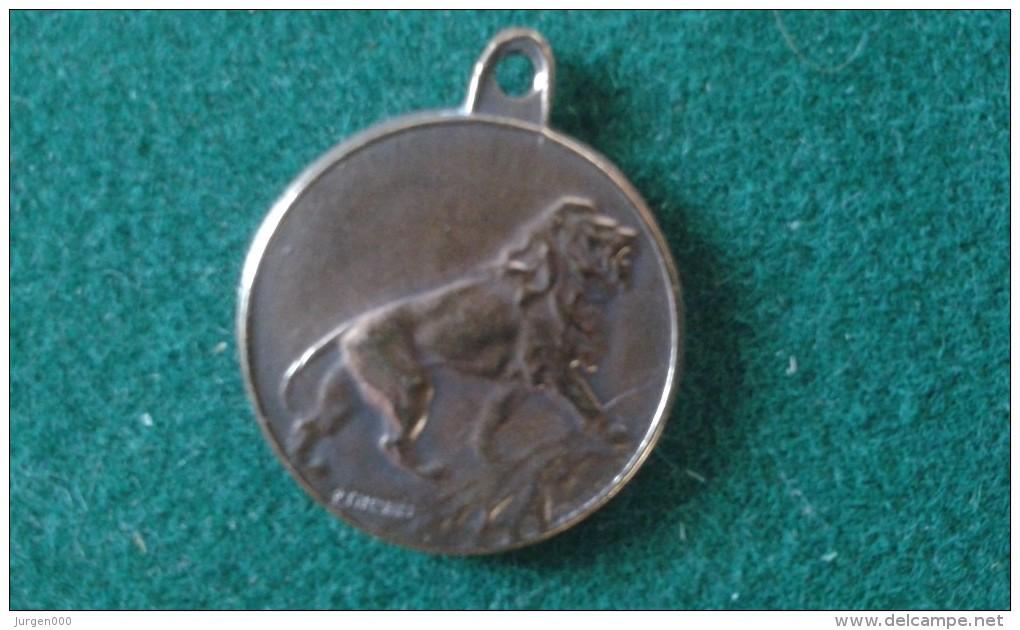 Hulde Aan De Verminkte Soldaten, Hommage Aux Soldats Invalides, 4 Gram (med349) - Pièces écrasées (Elongated Coins)