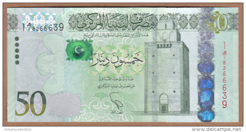 AC -  LIBYA - 50 DINARS UNCIRCULATED - Libye