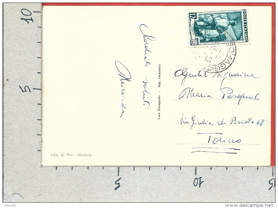 CARTOLINA VG ITALIA - SALSOMAGGIORE TERME (PR) - Terme Berzieri - 10 X 15 - ANN. 1953 - Parma