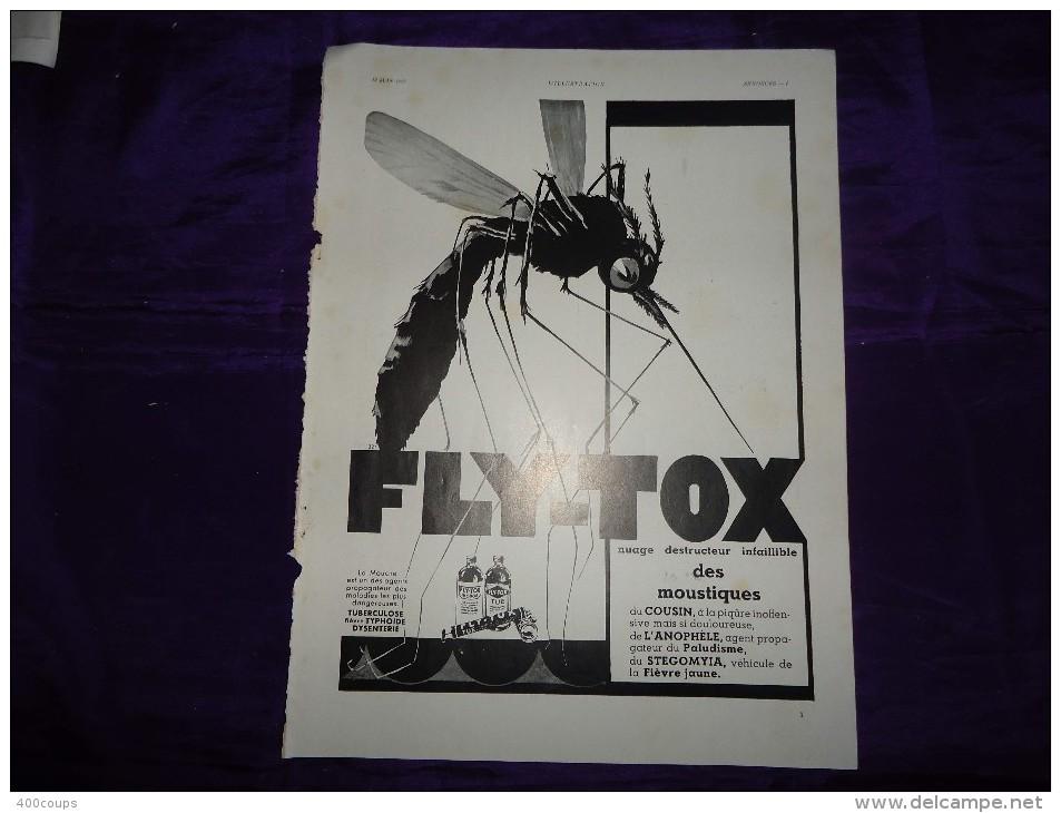 Pub De 1937 - FLY-TOX - - Pubblicitari