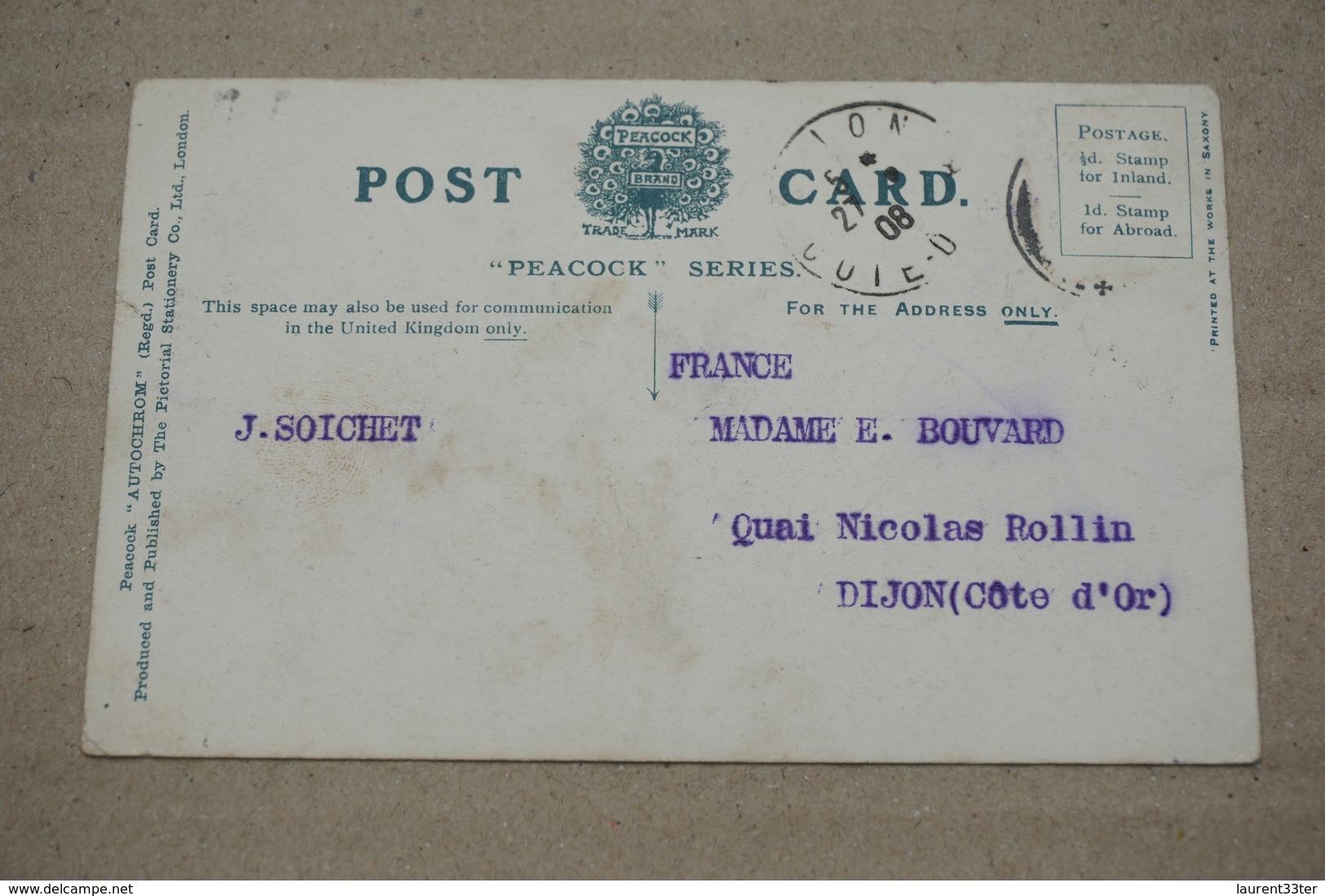 Felixstowe Cliff Gardens 1908 - Non Classés