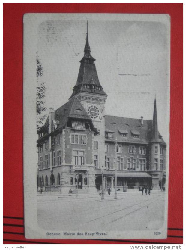Genève / Genf - Mairie Des Eaux-Vives - GE Ginevra