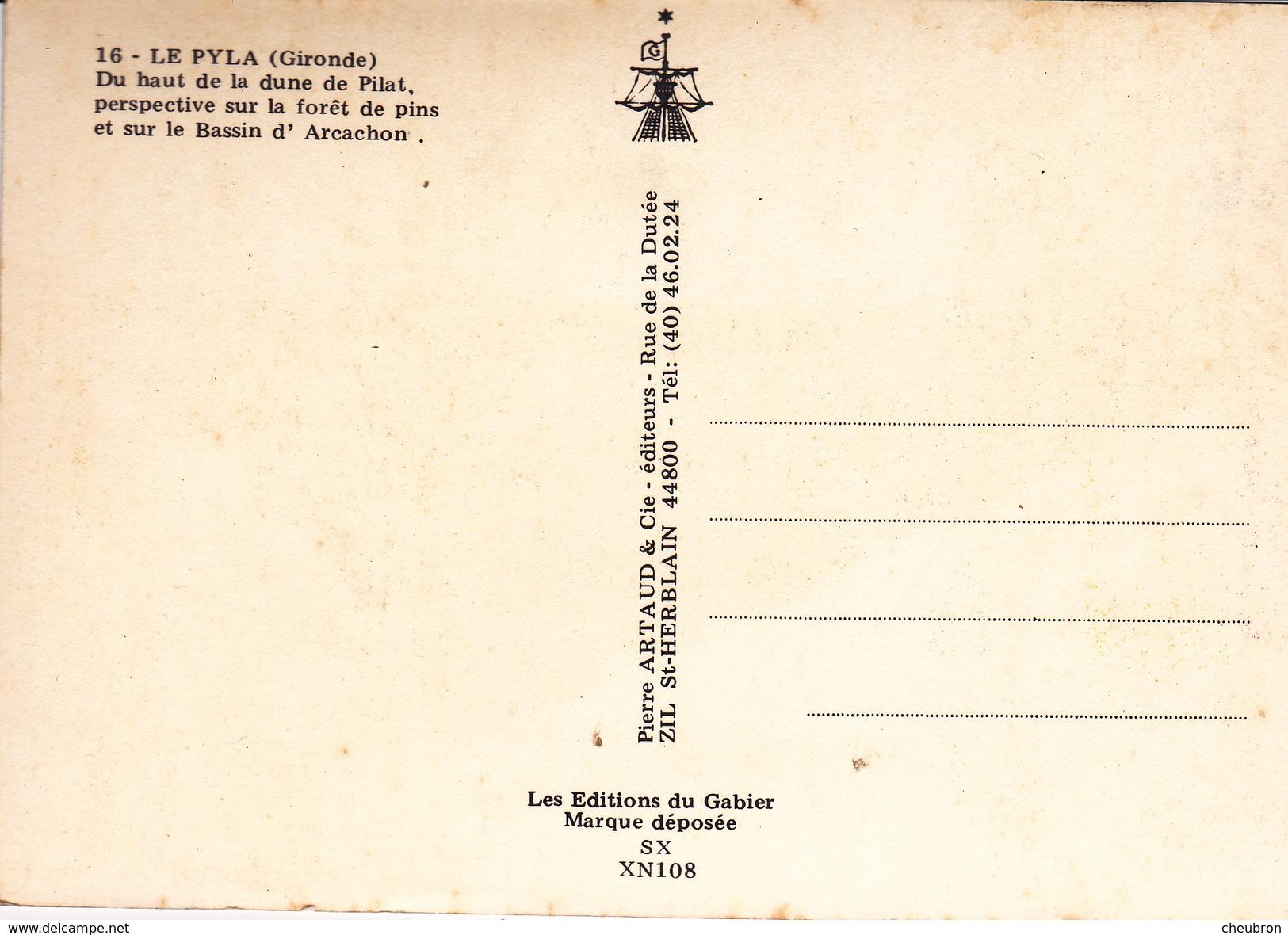 33. LE PYLA  .DU HAUT DE LA DUNE DU PILAT - France