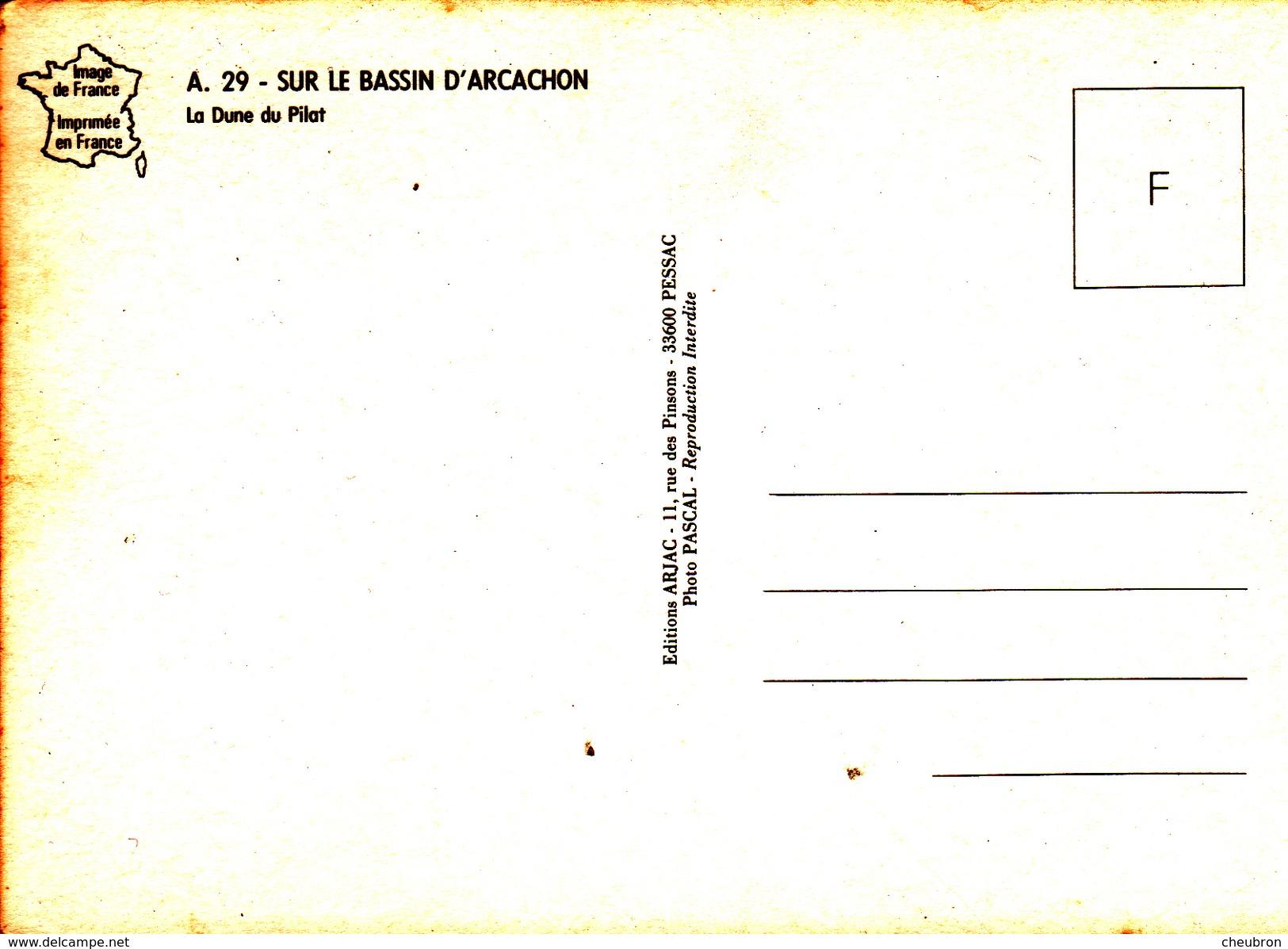33. LE PYLA  .DUNE DU PILAT. PERSPECTIVE DE LA RUE COMMERÇANTE. - Other Municipalities