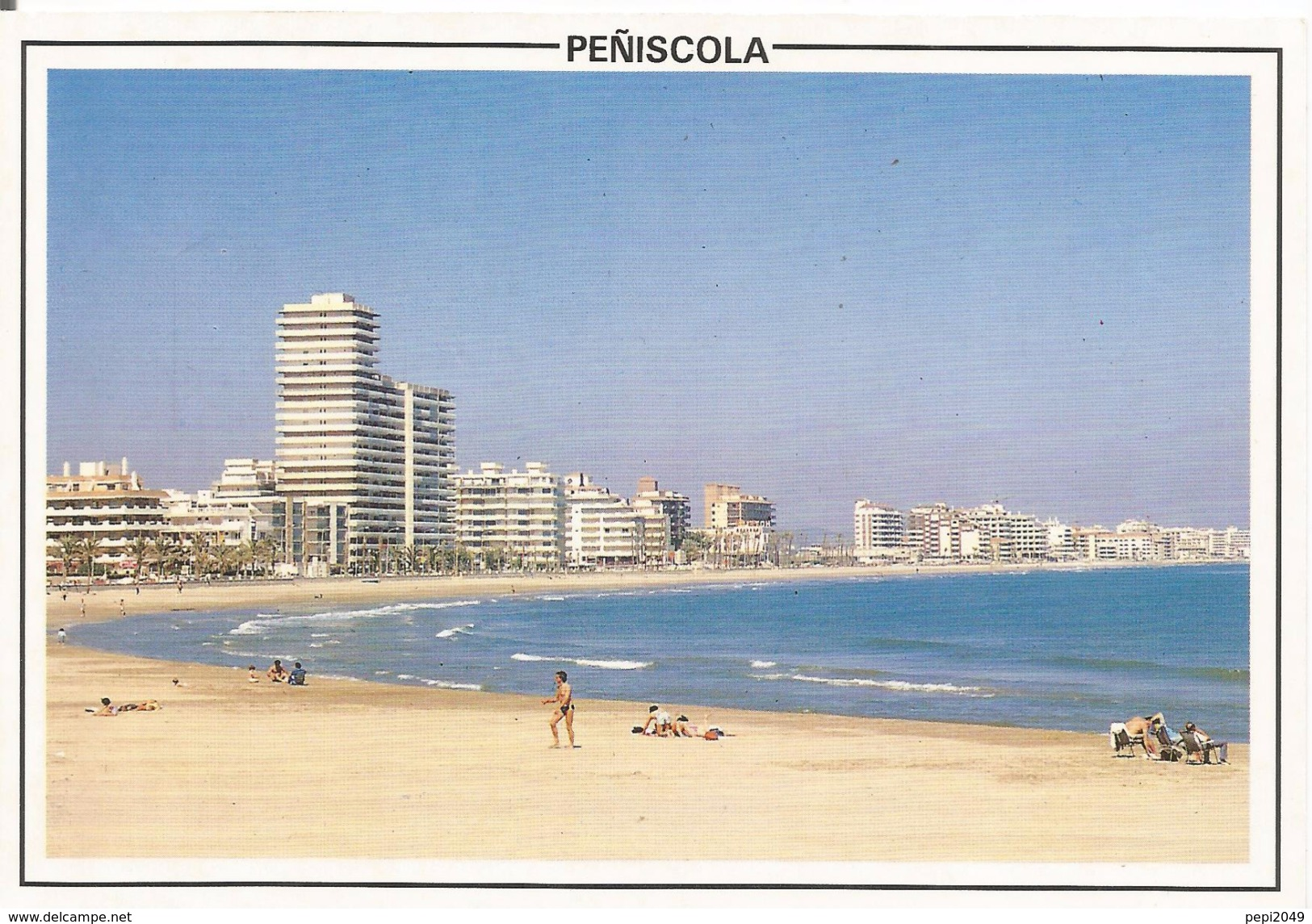 PN695 - POSTAL  - PEÑISCOLA - CASTELLON - PLAYA - Castellón