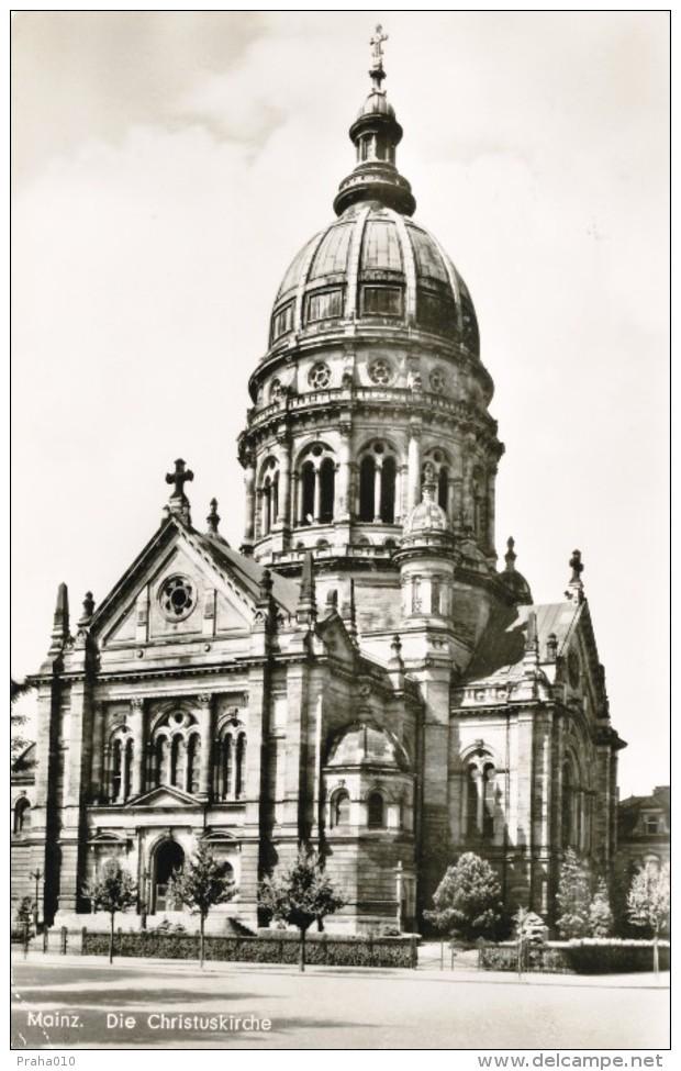L0098 - BRD (1958) Mainz: 43-a Universala Kongreso De Esperanto (postcard: Mainz, Church), Tariff: 20 Pf. - Esperanto