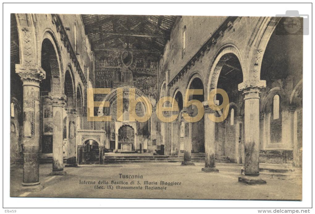 Tuscania (VT), Interno Della Basilica Di S. Maria Maggiore (sec. IX), Monumento Nazionale, Nuova - Altre Città