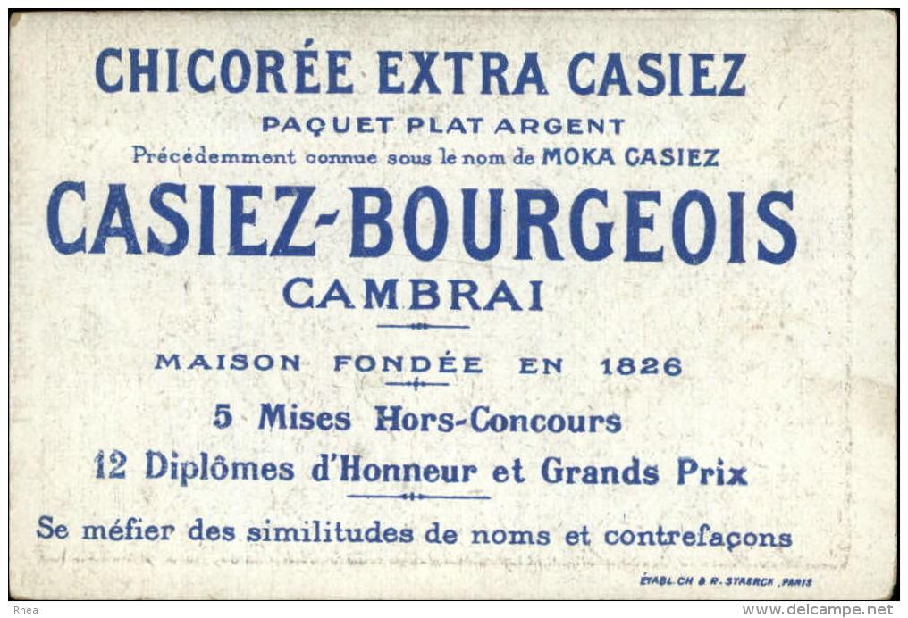 EPIPHANIE - GALETTE DES ROIS - Fève - Lot De 8 Chromos - Chicorée CASIEZ-BOURGEOIS - CAMBRAI - Chromos