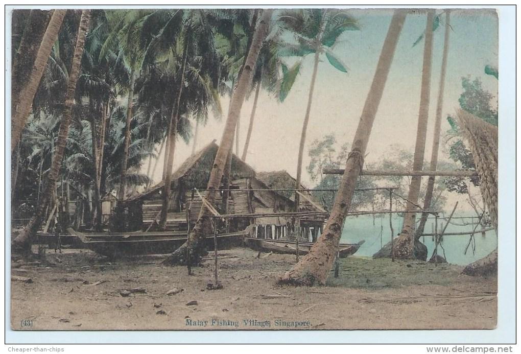 Singapore - Malay Fishing Village - Singapore