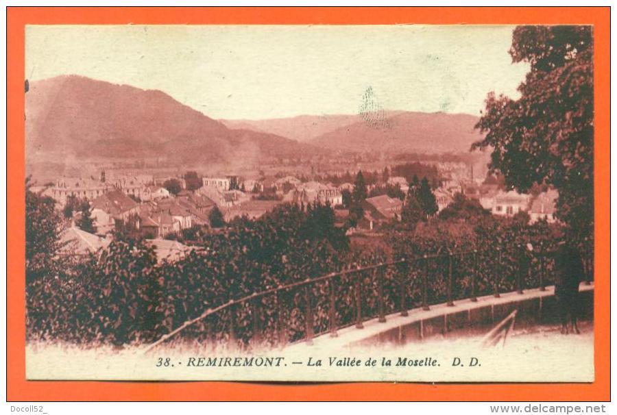 """Cpa 88  Remiremont """" La Vallée De La Moselle """" Edit Delboy - LJCP2 - Remiremont"""