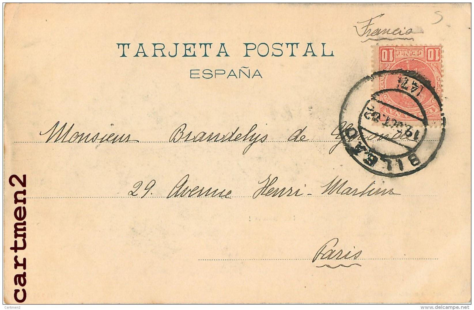 BILBAO IAL SANTO ! ILLUSTRATOR ESPANA 1900 - España