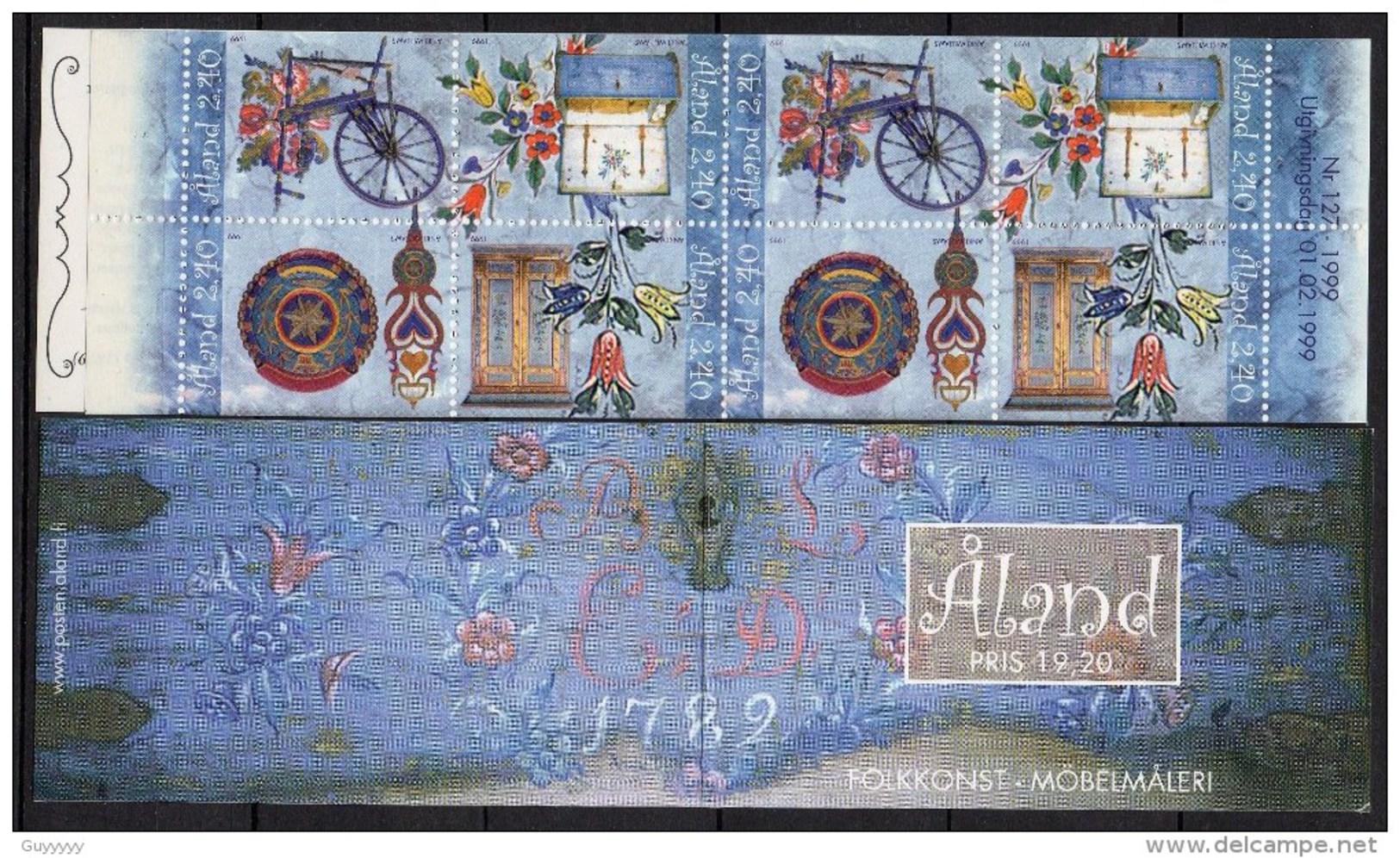 Aland - Carnet - 1999 - Yvert N° 151 à 154 = C151 ** - Aland