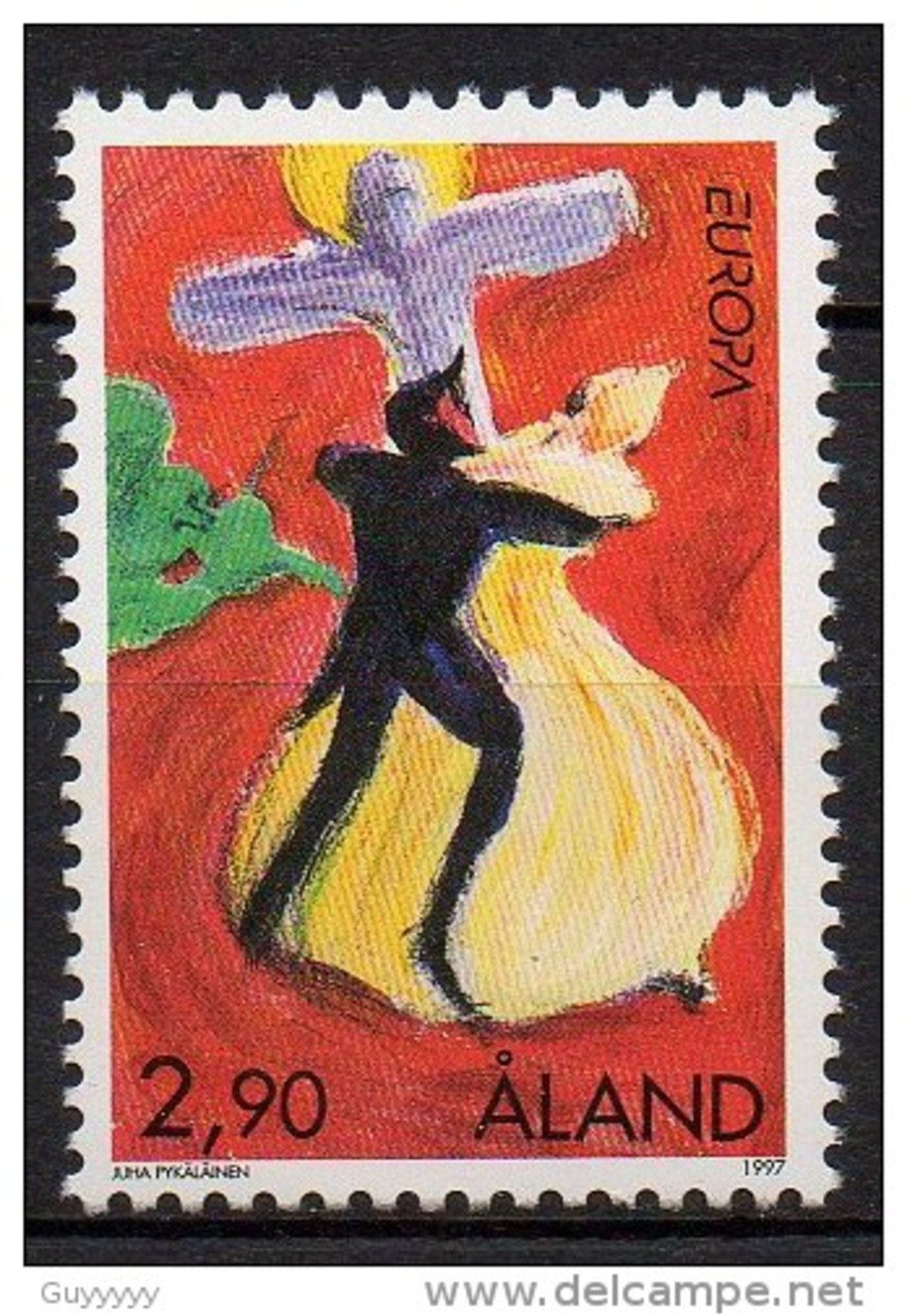 Aland - 1997 - Yvert N° 128 **  - Europa - Aland
