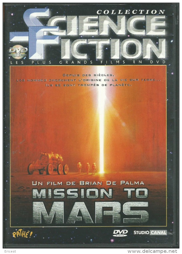 DVD MISSION TO MARS (5) - Ciencia Ficción Y Fantasía