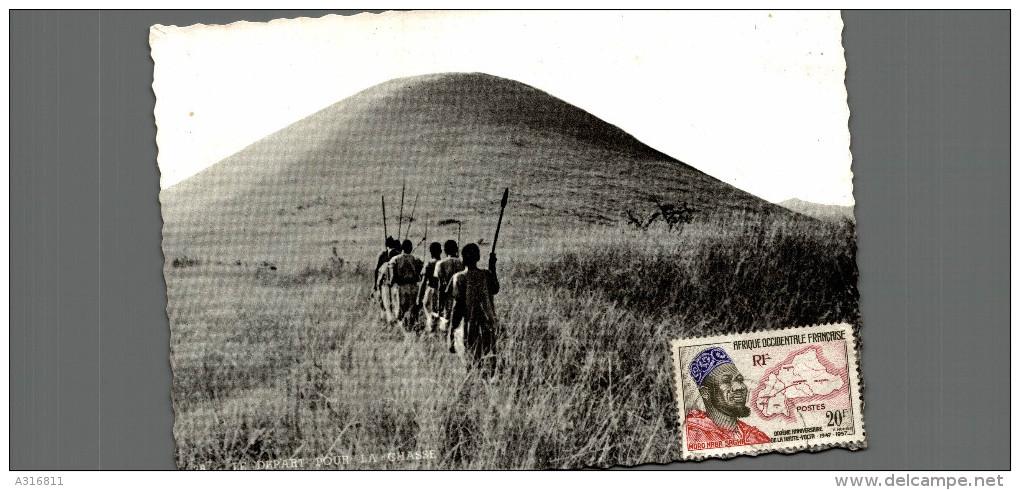 AU RUANDA LE DEPART POUR LA CHASSE - Rwanda
