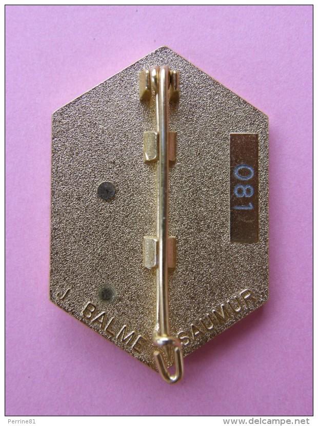 Broche (no Pin´s) AS SALMAN , KOWEIT 1991 - N°081 - 29x43 Mm - Signé BALME SAUMUR - Militaria , Operation Daguet - Militaria
