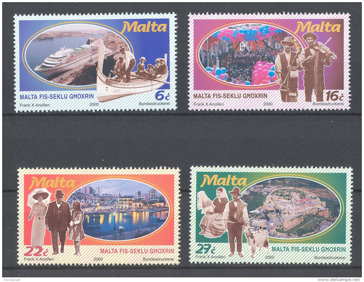Malta - 2000 Malta And Gozo MNH__(TH-17949) - Malta