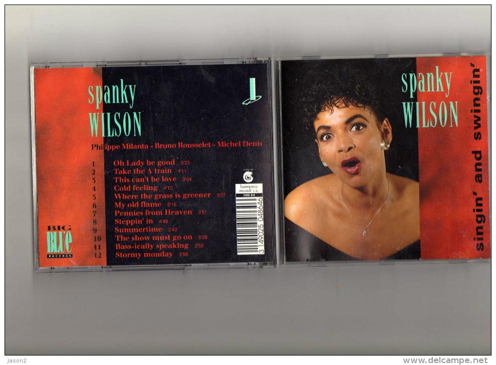 Cd 12 Titres SPANKY WILSON SINGIN' AND SWINGIN' - Blues