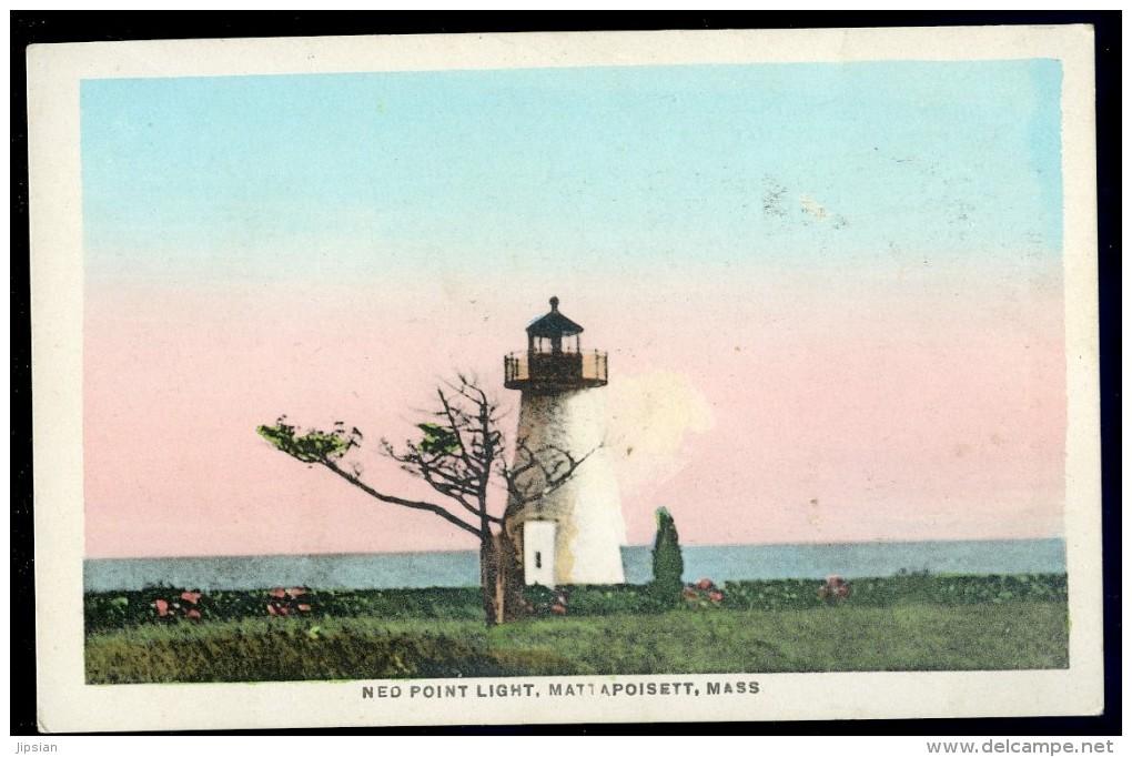 Cpa Etats Unis Nantucket  Massachusetts -- Ned Point Light , Mattapoisett   JIP45 - Nantucket