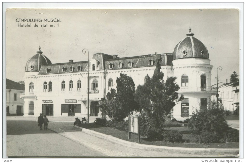 Campulung-Muscel - State Owned Hotel No. 1 - Romania