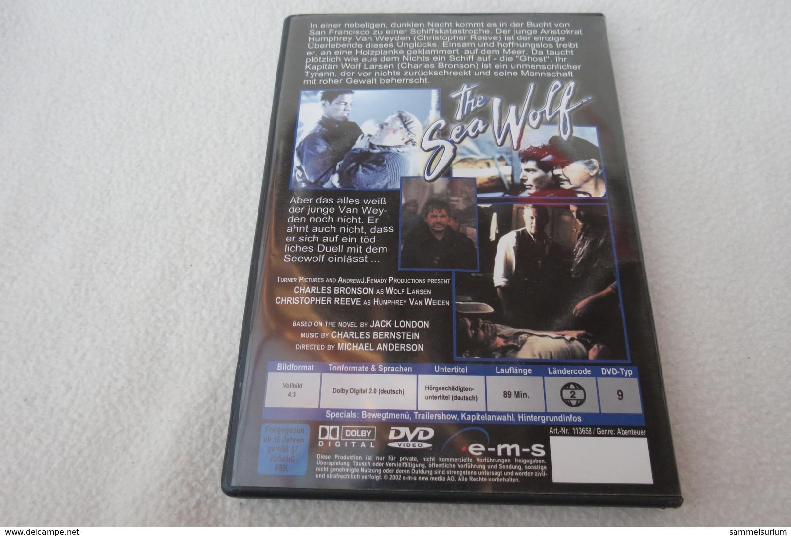 """DVD """"The Sea Wolf"""" Ein Mann, Hart Und Rauh Wie Die See, Charles Bronson, Christopher Reeve - Musik-DVD's"""