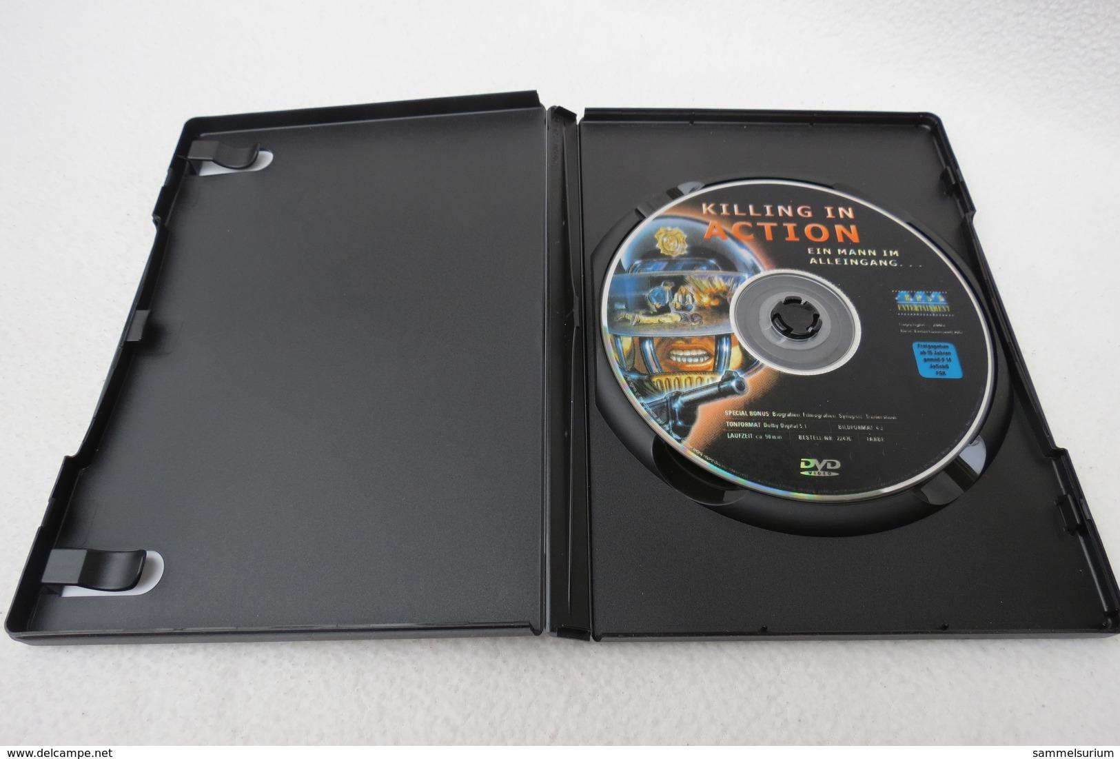 """DVD """"Killing In Action"""" Ein Mann Im Alleingang - Musik-DVD's"""