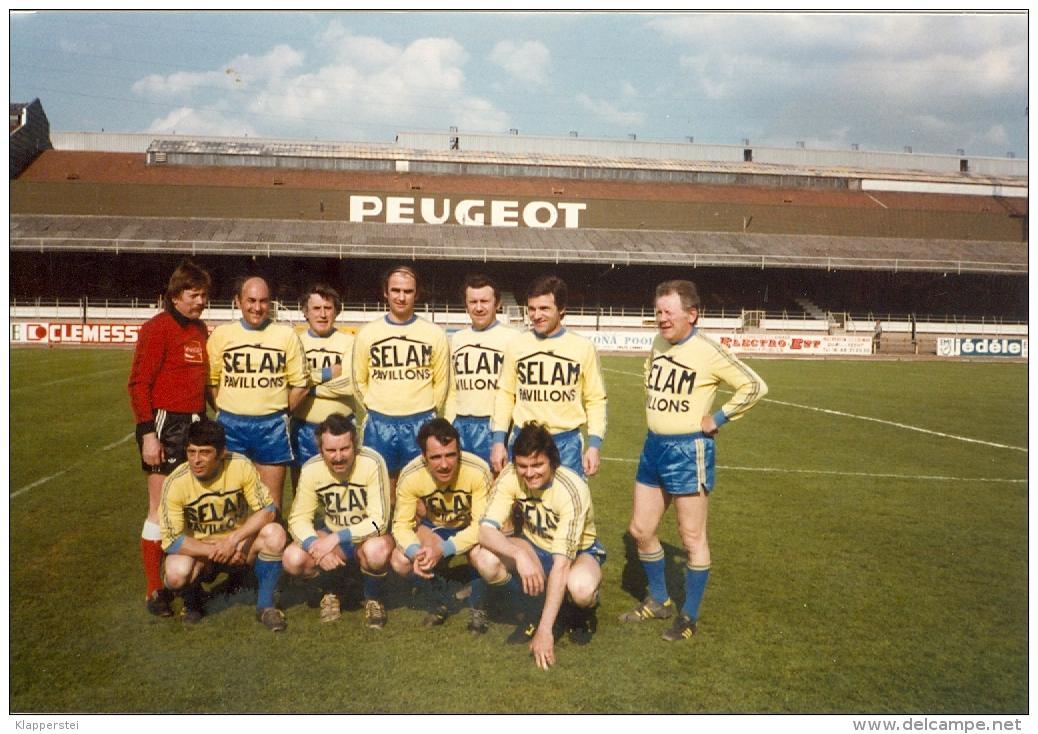 25 - Doubs - Photo FC Sochaux Montbéliard Match De Gala 50 ème Anniversaire Du Club 1978 - Sport