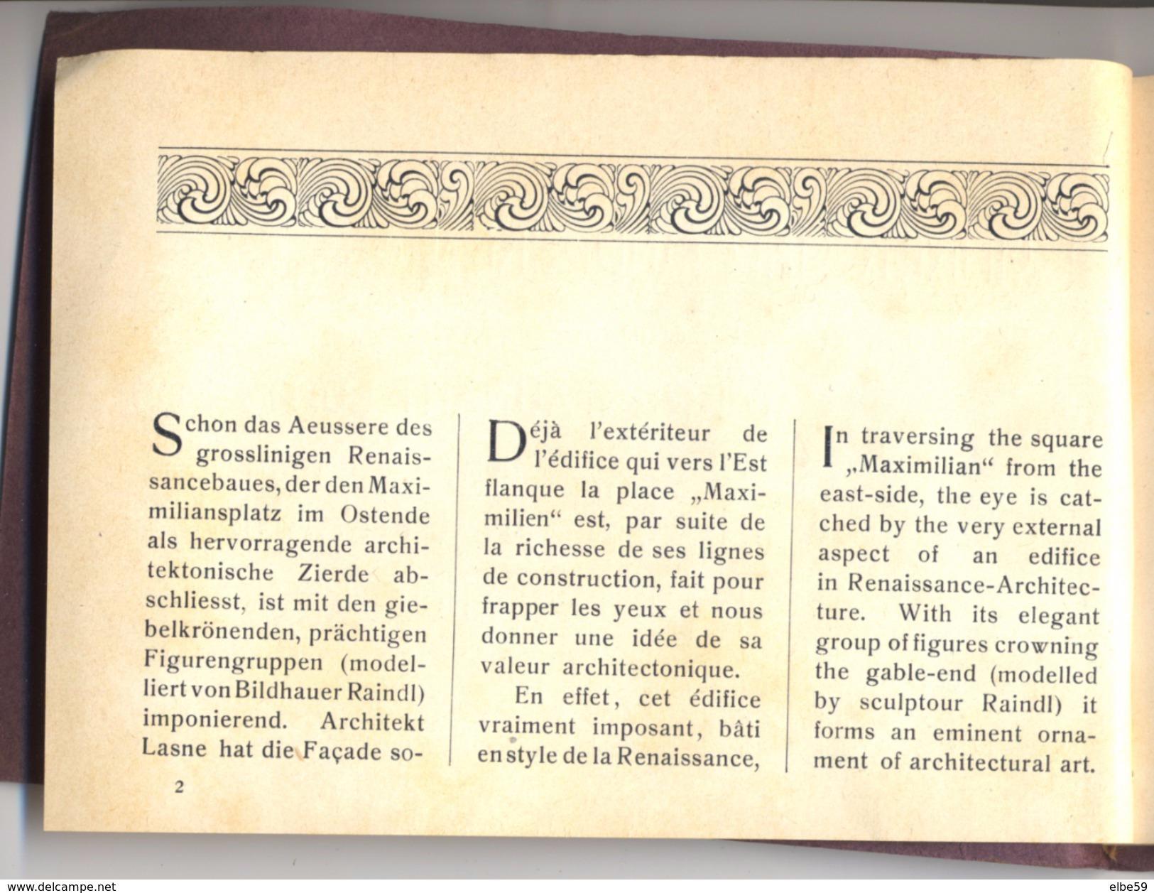Führer Und Andenken An Das Café-Restaurant Luitpold Und Wein-Restaurant Français München, 1902 - Libri, Riviste, Fumetti