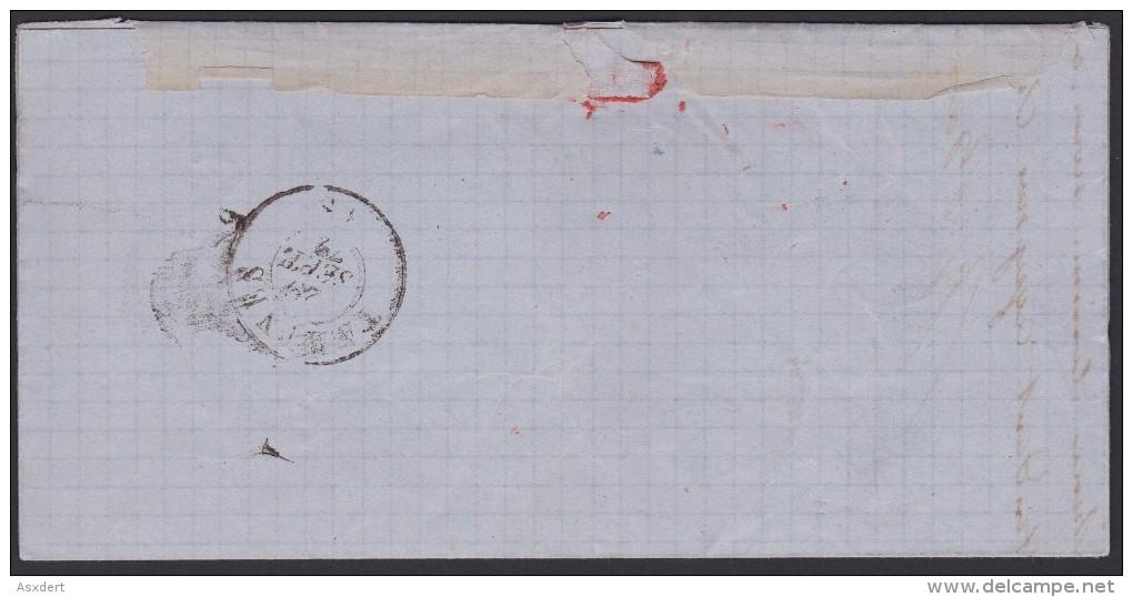LETTRE  - BRIEF N° 30 LP. 144  GEMBLOUX / BAUDOIN & DETHIER >> FALISOLE - 1872 - 1869-1883 Léopold II