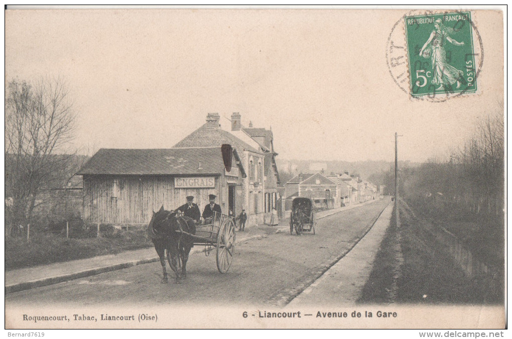 60 Liancourt  Avenue De La Gare - Liancourt