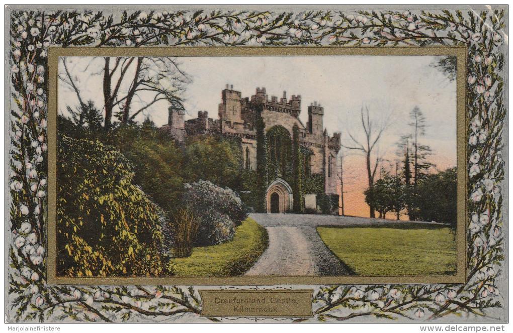 Craufurdland Castle - Kilmernock - Davidsons White Heather Border - Ideal Series N° 180971 - Ayrshire